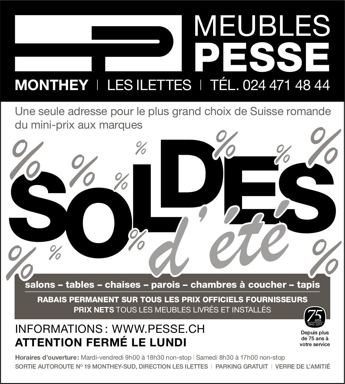 Meubles Pesse Monthey Soldes D Ete