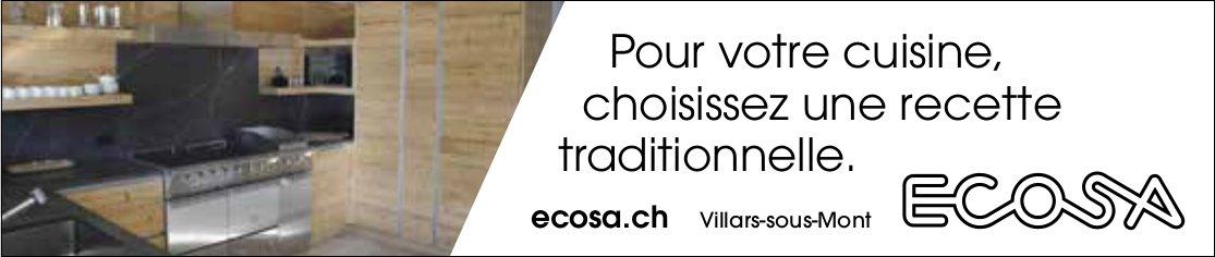 ECOSA, Villars-sous-Mont, Pour votre cuisine, choisissez une recette traditionnelle.