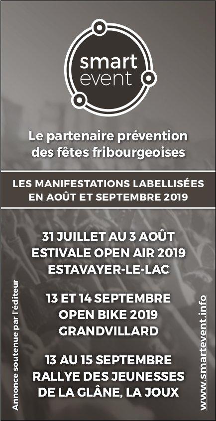 Smart even - Le partenaire prévention des fêtes fribourgeoises en août et septembre