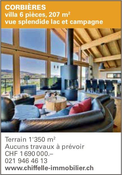 Villa 6 pièces, Corbières, à vendre