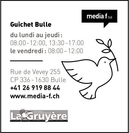 Media f SA - La Gruyère