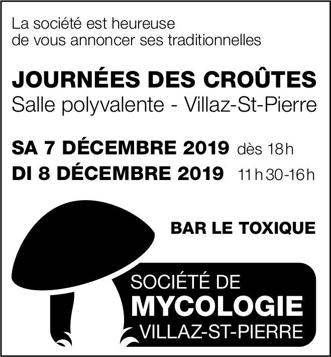JOURNÉES DES CROUTES, 7 et 8 décembre, Salle polyvalente, Villaz-St-Pierre