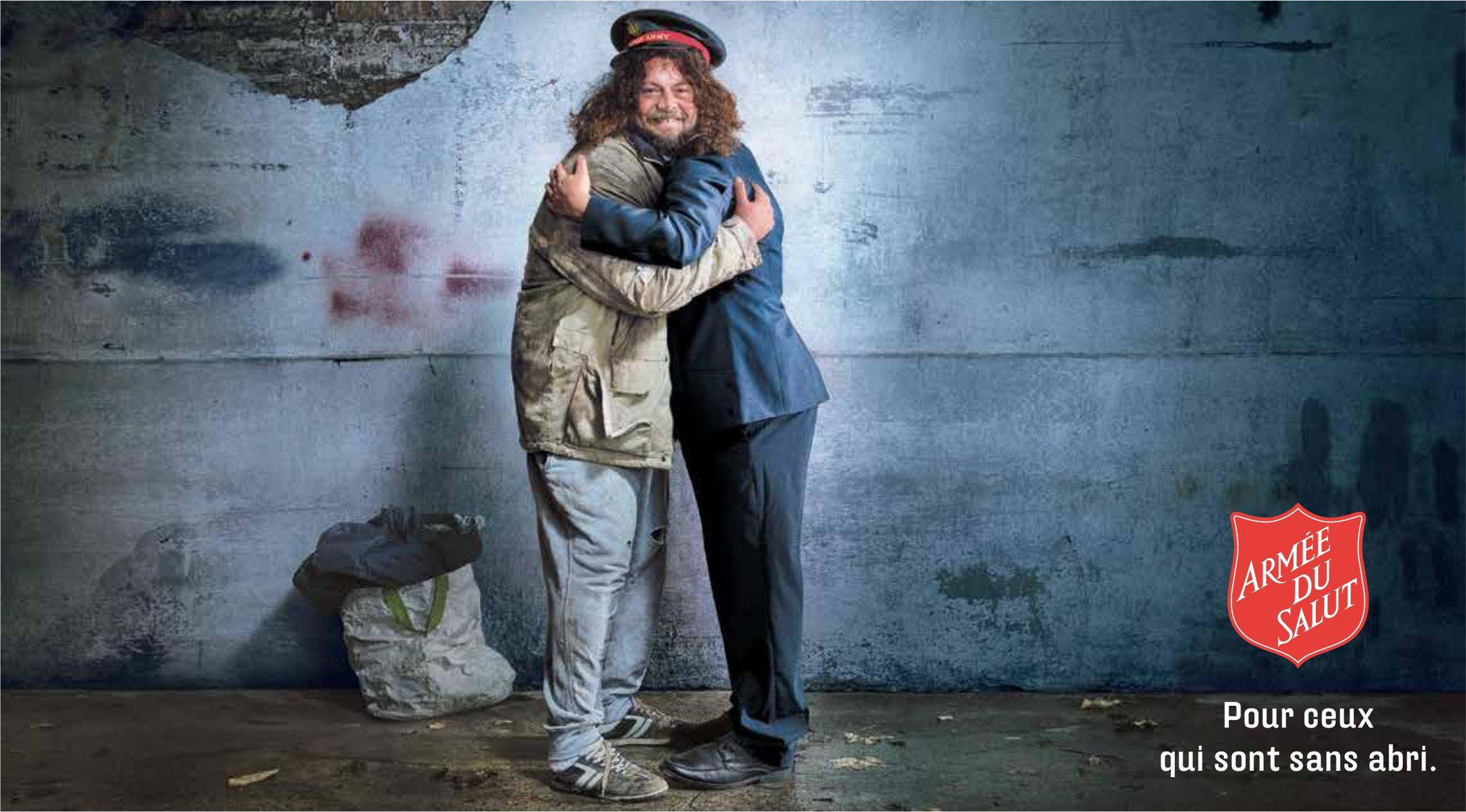 ARMÉE DU SALUT - Pour ceux qui sont sans abri.