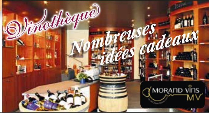 MORAND VINS - Vinothèque nombreuses idées cadeaux