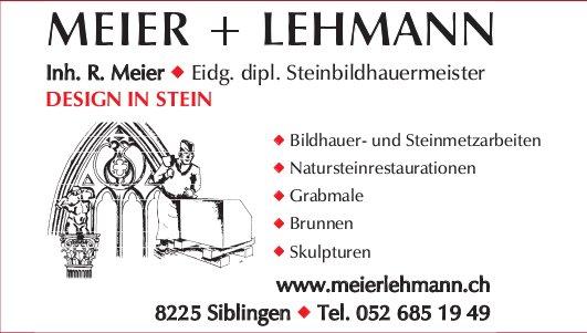 MEIER + LEHMANN, Siblingen - DESIGN IN STEIN