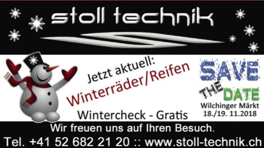 Stoll Technik - Jetzt aktuell: Winterräder/Reifen