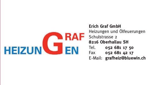 Erich Graf GmbH, Oberhallau - Heizungen und Ölfeuerungen