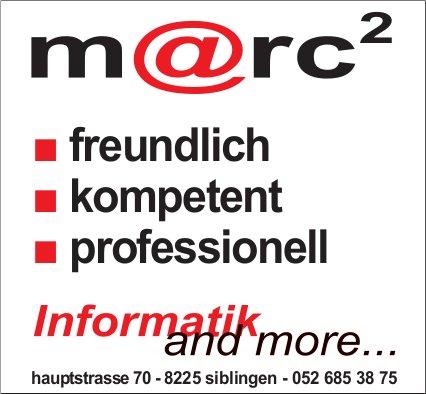 M@rc², Siblingen - Informatik and more...