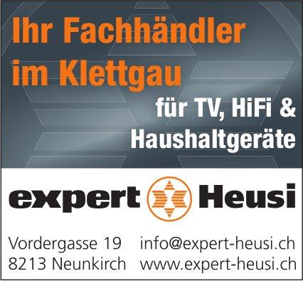 Expert Heusi, Neunkirch - Ihr Fachhändler im Klettgau