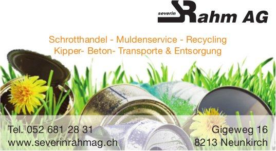 Severin Rahm AG, Neunkirch - Schrotthandel - Muldenservice - Recycling