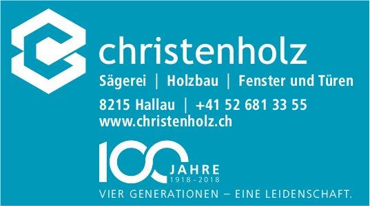 Christenholz, Hallau - Sägerei, Holzbau, Fenster und Türen