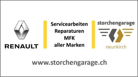 Storchengarage, Neunkirch - Servicearbeiten, Reparaturen, MFK aller Marken