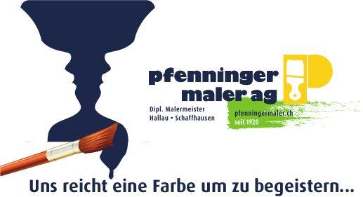 Pfenninger Maler AG, Hallau & Schaffhausen - Uns reicht eine Farbe um zu begeistern...