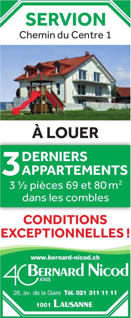 Appartements, 3.5 pièces, Servion, à vendre