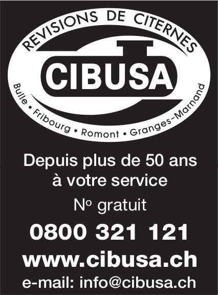 CIBUSA - Depuis plus de 50 ans