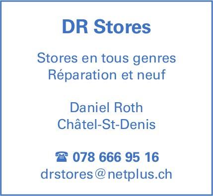DR Stores, Châtel-St-Denis, Store en tous genres Réparation et neuf