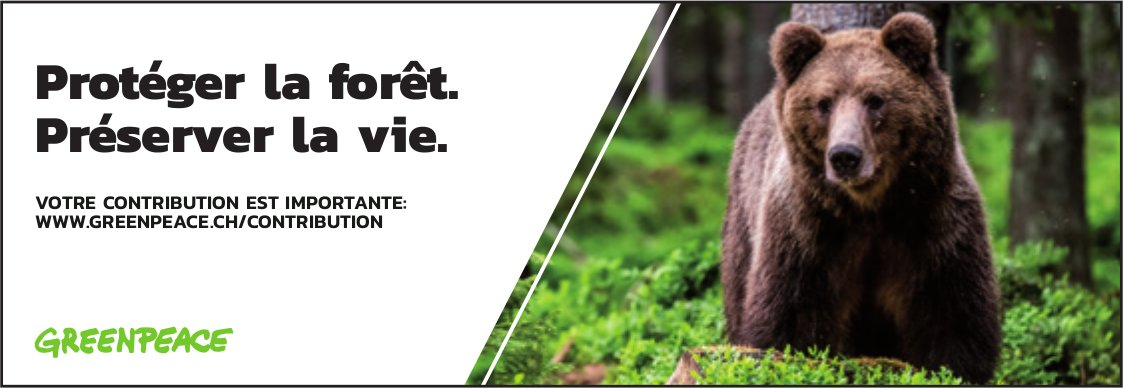 GREENPEACE - Protéger la forêt. Préserver la vie.