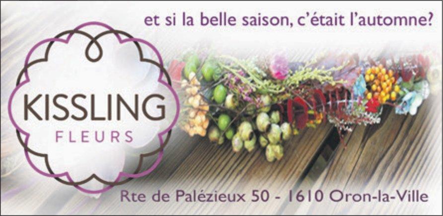 KISSLING FLEURS, Oron-la-Ville, et si la belle saison, c'était l'automne?