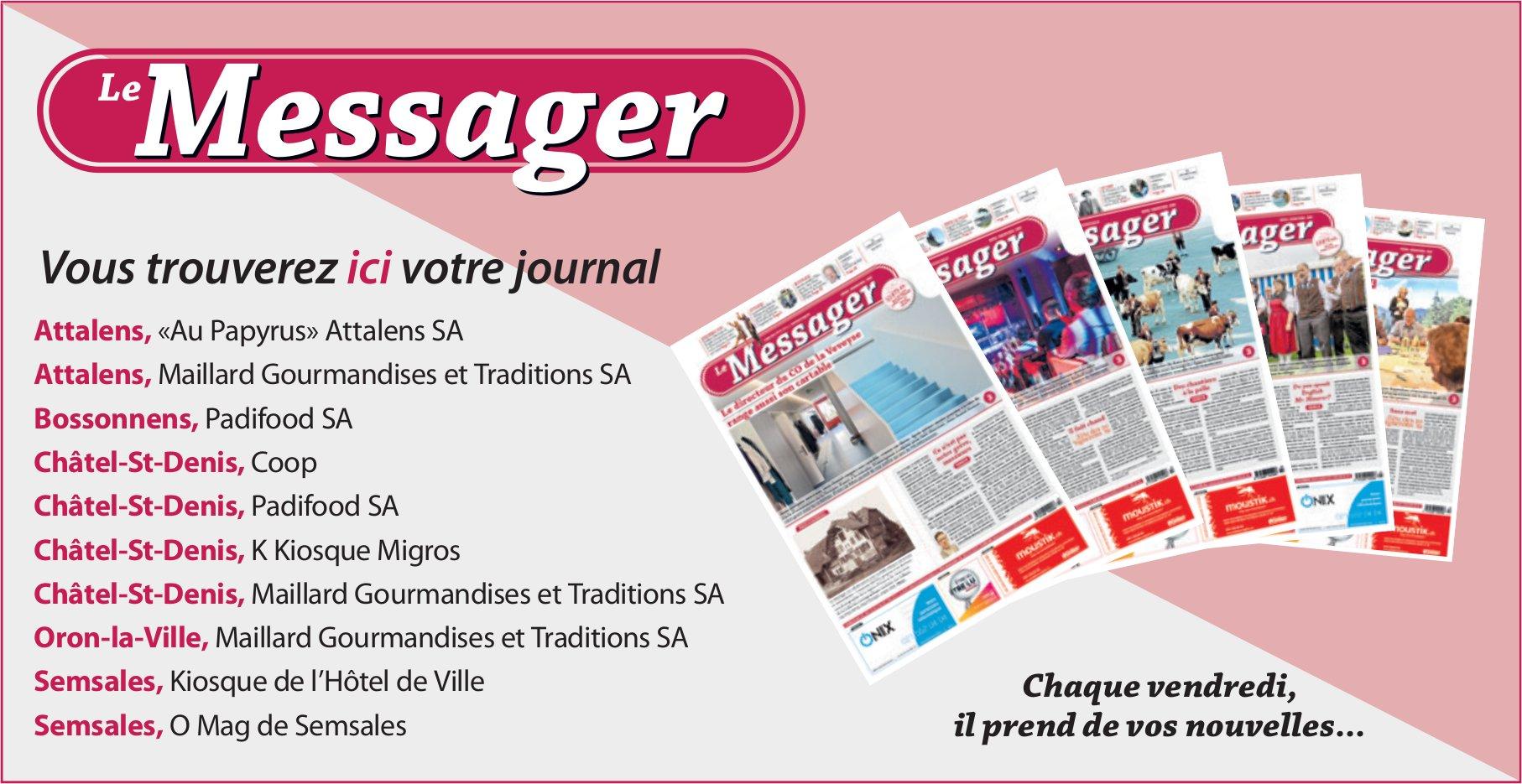 Le Messager - Vous trouverez ici votre journal