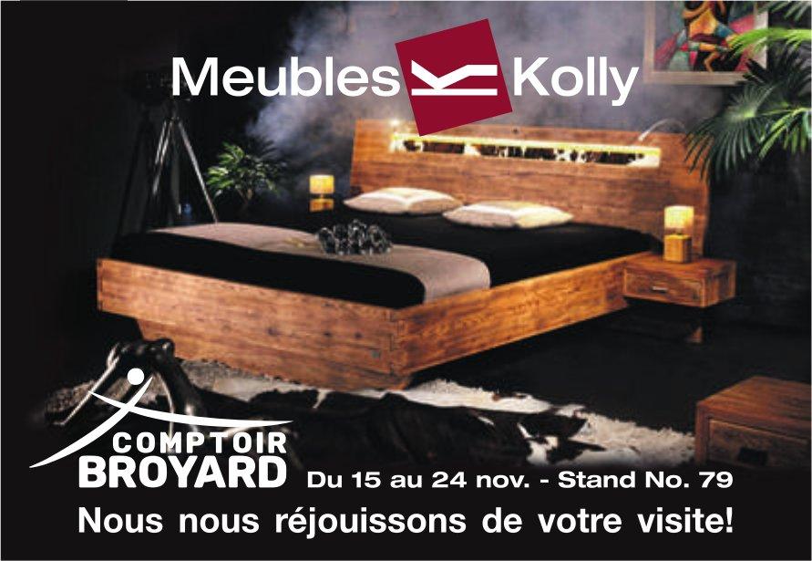Meuble Kolly - Comptoir Broyard du 15 au 24 novembre