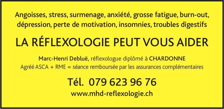 Marc-Henri Debluë, réflexologue diplômé, La Réflexologie peut vous aider
