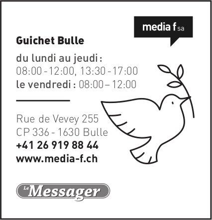 Media f SA - Le Gruyère