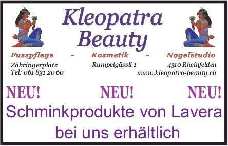 Kleopatra Beauty - NEU! Schminkprodukte von Lavera bei uns erhältlich