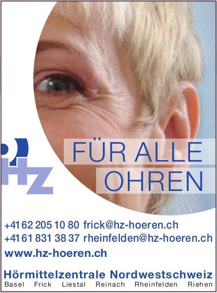 Hörmittelzentrale Nordwestschweiz - Für alle Ohren