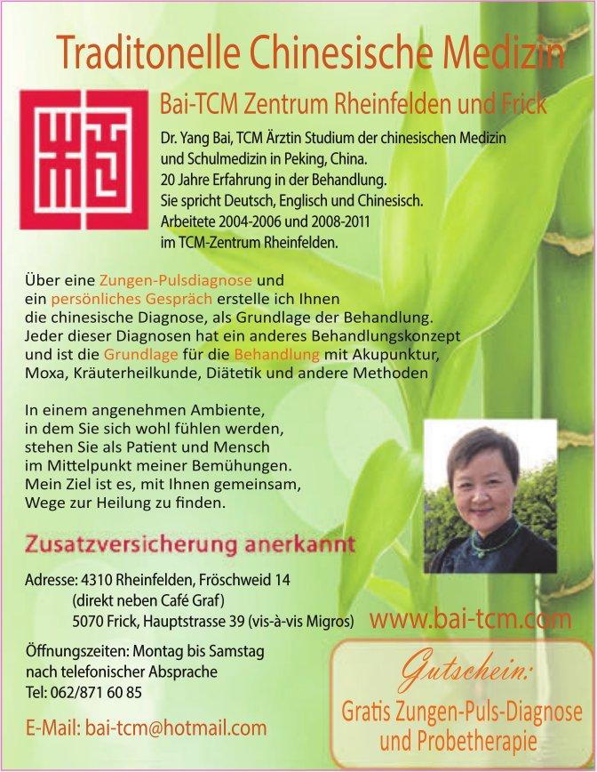 Traditonelle Chinesische Medizin - Bai-TCM Zentrum Rheinfelden und Frick