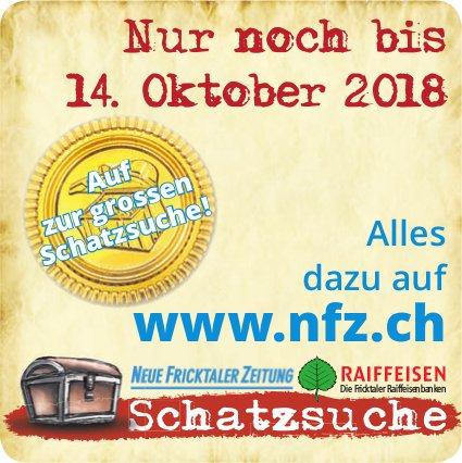NFZ/ Raiffeisen - Auf zur grossen Schatzsuche! nur noch bis 14. Oktober