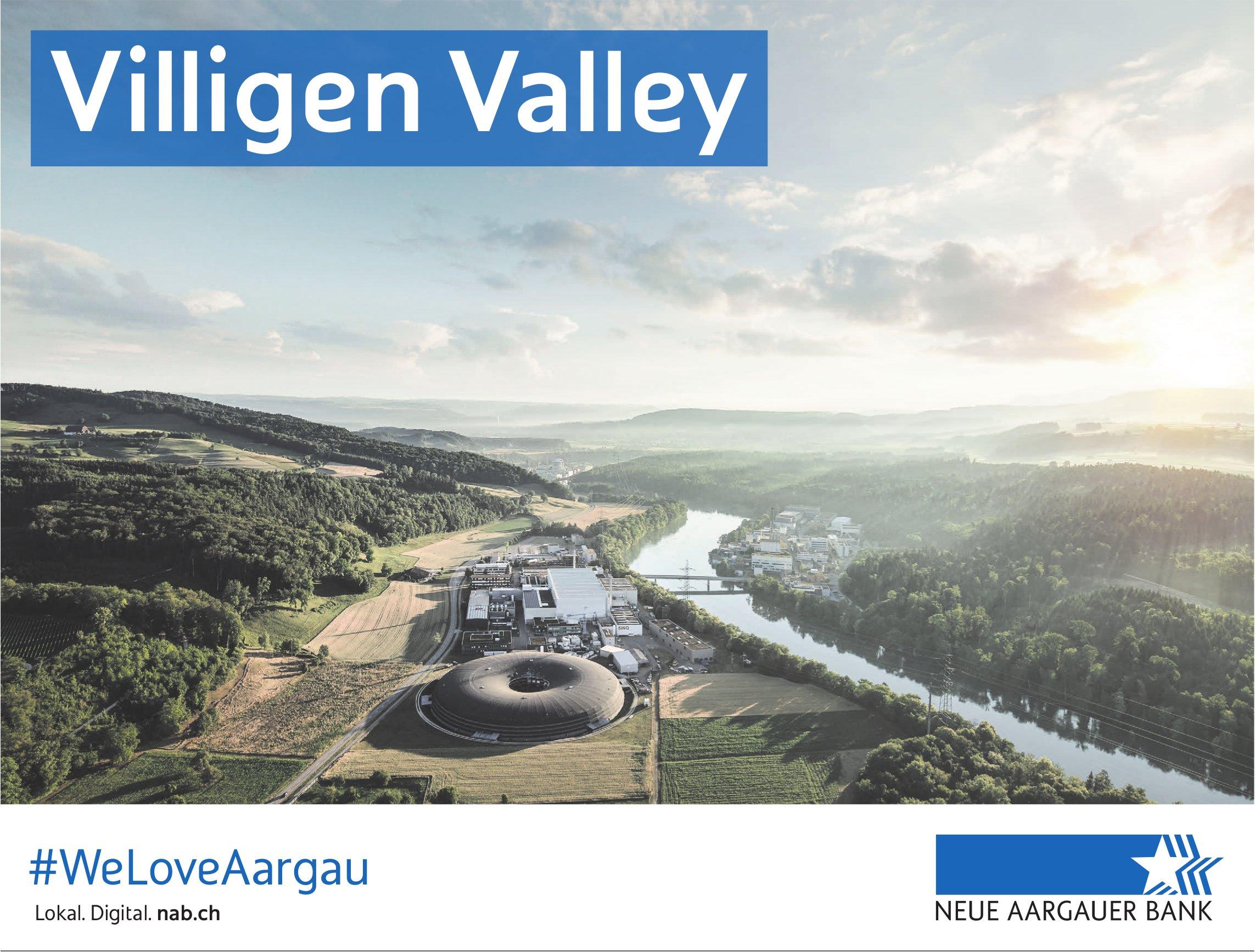 NEUE AARGAUER BANK - Villigen Valley