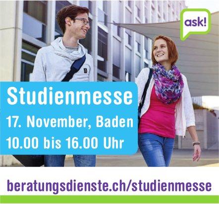 Studienmesse, 17. November, Baden