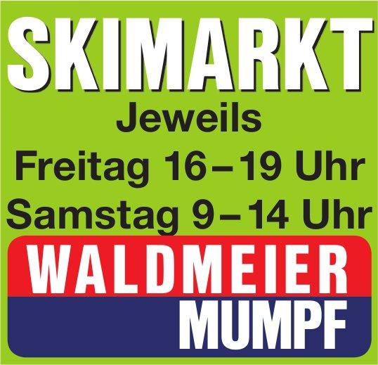 WALDMEIER MUMPF - SKIMARKT JEWEILS FREITAG UND SAMSTAG