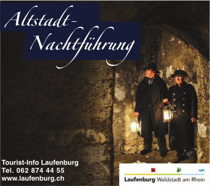 Tourist-Info Laufenburg - Altstadt-Nachtführung
