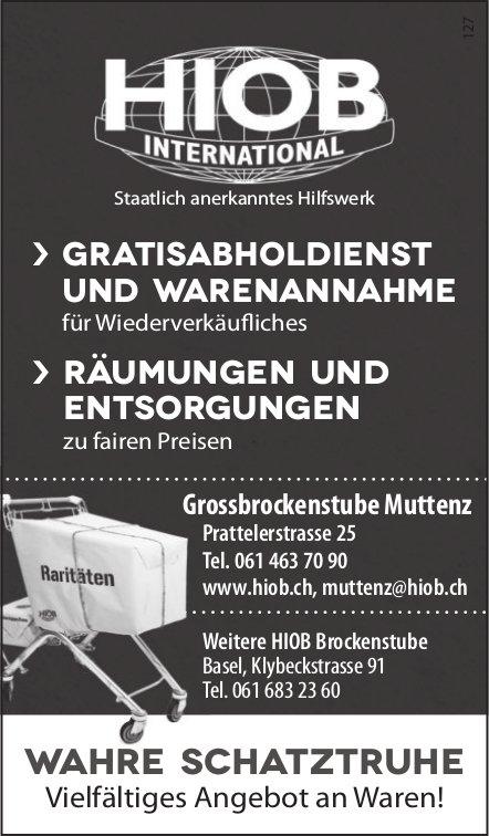 HIOB INTERNATIONAL - Grossbrockenstube Muttenz