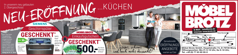 Möbel Brotz Neu Eröffnung Küchen