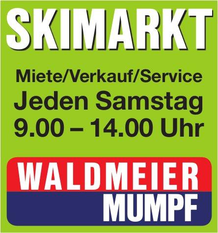 WALDMEIER MUMPF - SKIMARKT JEDEN SAMSTAG