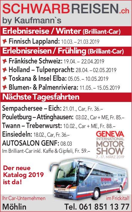 SchwarbReisen.ch - Programm & Events