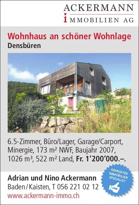 6.5-Zimmer, Büro/Lager, Garage/Carport in Densbüren zu verkaufen
