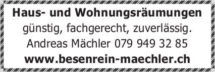 Besenrein Mächler - Haus- und Wohnungsräumungen