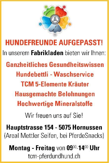 TCM Pferd und Hund - HUNDEFREUNDE AUFGEPASST!