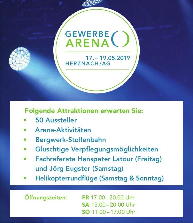 GEWERBE ARENA, HERZNACH/AG, 17. - 19.05.2019