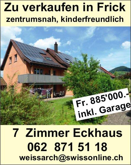 7 Zimmer Eckhaus in Frick zu verkaufen