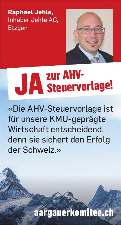 JA zur AHV-Steuervorlage!