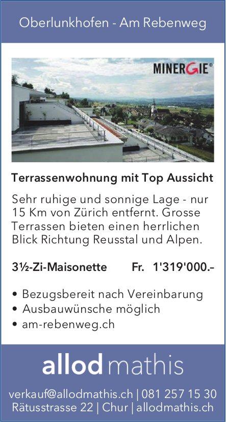 3.5-Zi-Maisonette-Wohnung, Oberlunkhofen, zu verkaufen
