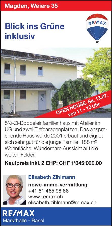 5.5-Zi.-Doppeleinfamilienhaus in Magden zu verkaufen