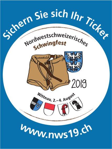 Nordwestschweizerisches Schwingfest, 2. - 4. August, Wittnau