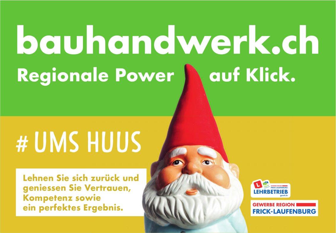 bauhandwerk.ch - Regionale Power auf Klick.