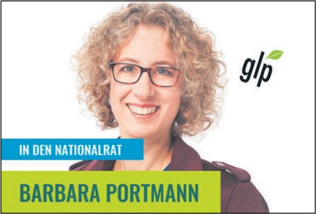 GLP - BARBARA PORTMANN IN DEN NATIONALRAT