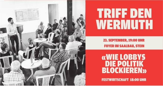 TRIFF DEN WERMUTH AM 23. SEPTEMBER